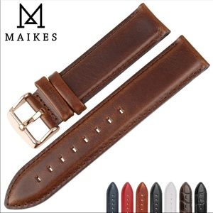 Accessories - Brown leather band